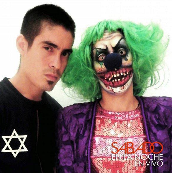 El Maquillador Shaul Rivas Nos Ensenara Como Realizar Un Maquillaje - Maquillaje-profesional-halloween