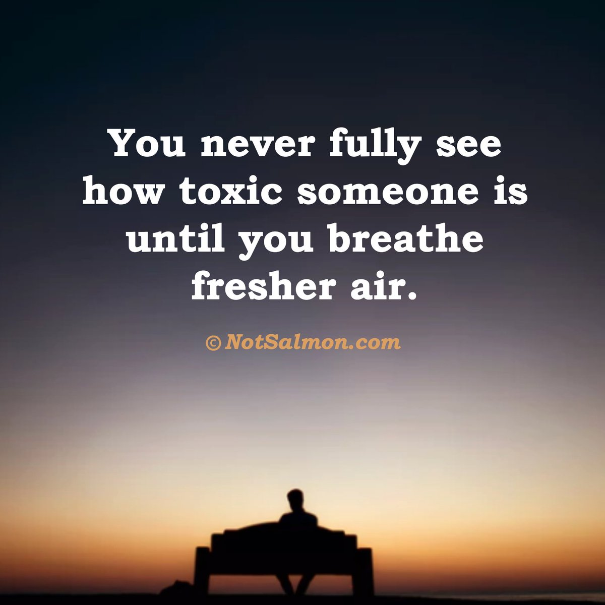 Removing Negative People Quotes: You Never Fully See How Toxic Someone Is Until You Breathe