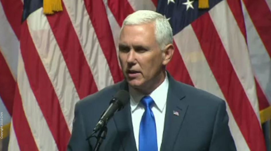 Plane carrying Republican VP candidate Mike Pence slides off runway kprc2