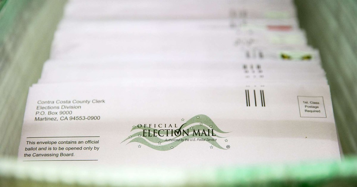 No stamp? No problem: Your mail-in ballots will get there anyway. via @SteveRubeSF