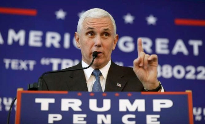 Pence plane slides off runway at New York airport; no injuries reported
