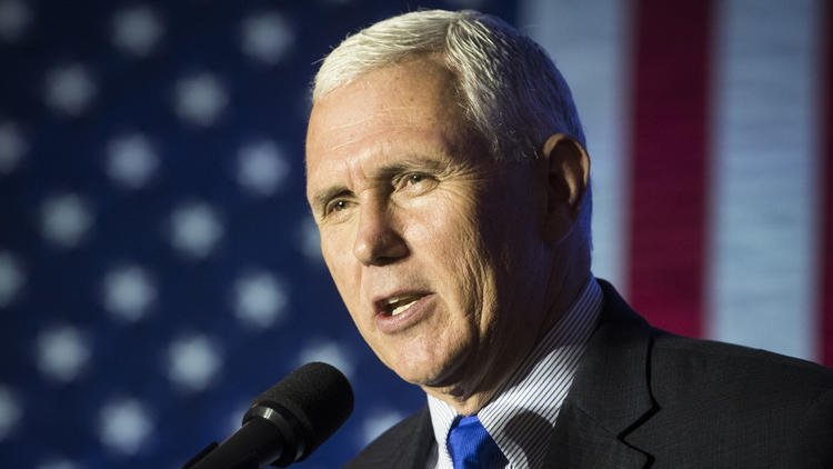 Plane carrying Indiana Gov. Mike Pence slides off LaGuardia runway in NYC; no one injured