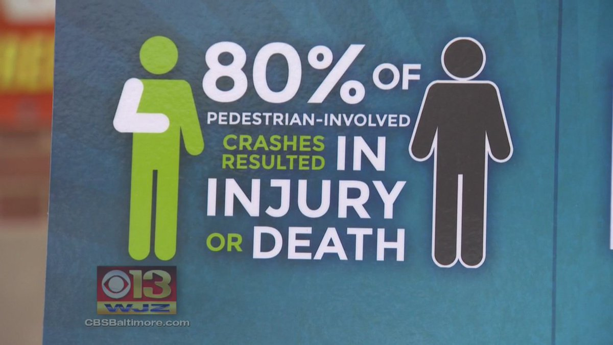 New campaign to prevent pedestrian-involved crashes: @MikeWJZ