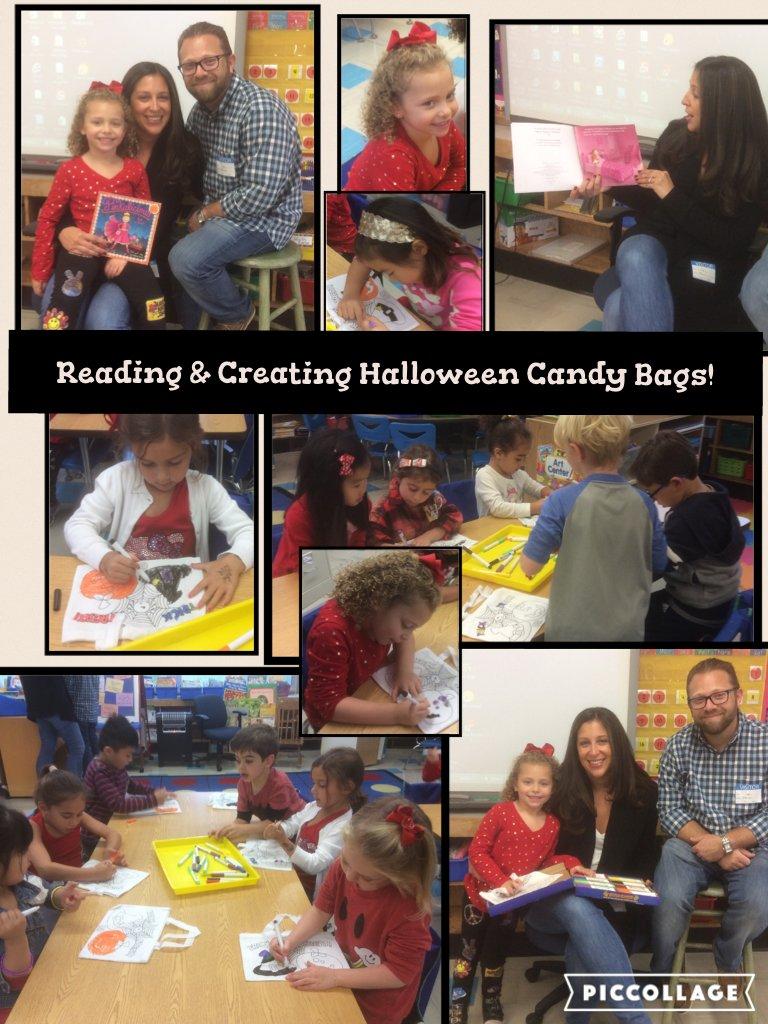 Reading & Creating Halloween Candy Bags! @ivysherman @LfinaLiz #seamanstrength https://t.co/LoU1CemE7I https://t.co/8wMcPrM4Ci