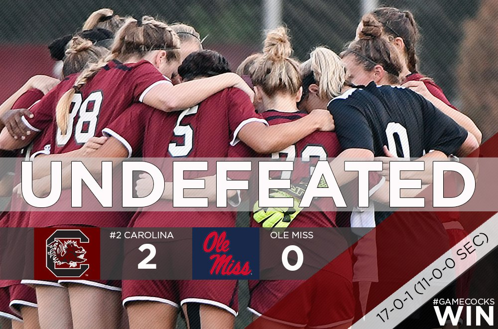 #Gamecocks WIN!  Thursday's SEC Championship Coronation caps off with an undefeated regular season! #ForeverToThee https://t.co/PGAGRP8RTq