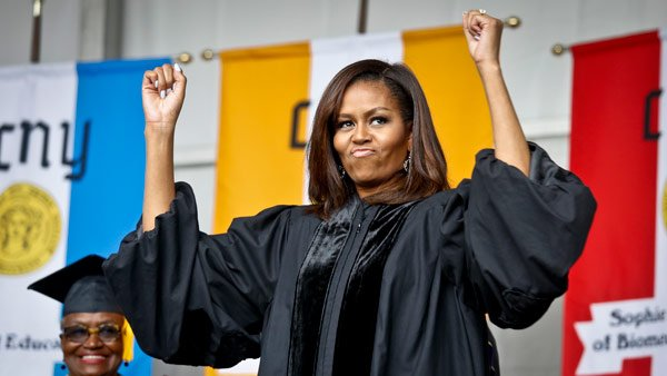 Bryn Mawr College wants @FLOTUS Michelle Obama to speak at graduation