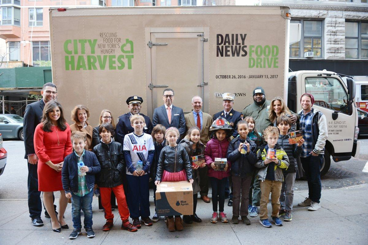 @NYDailyNews gives back through annual food drive collaboration with @CityHarvest