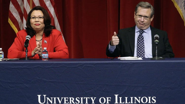 More aggressive Kirk goes after Duckworth in second debate, questions her family's heritage