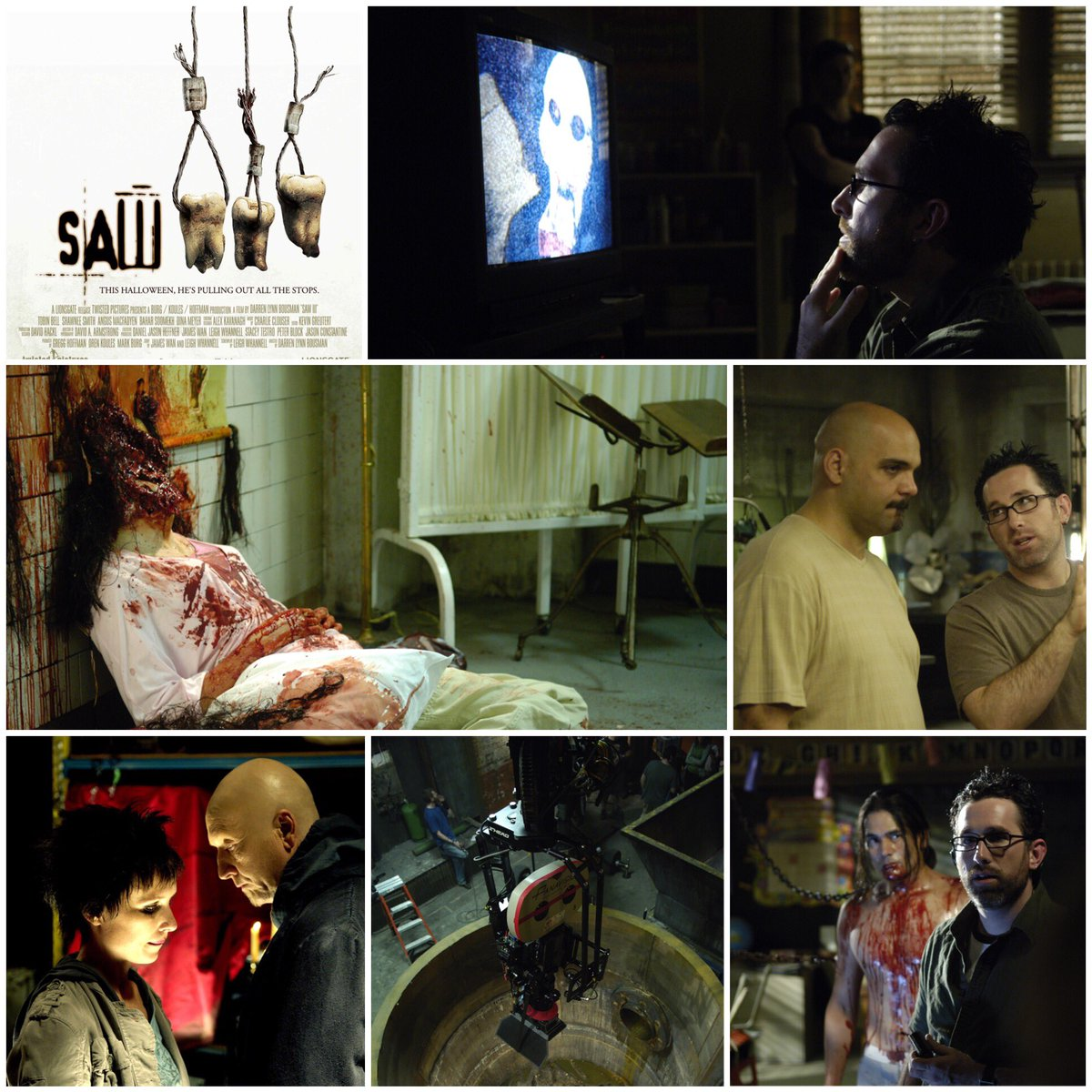 Saw III released one decade ago. Insane to look back on the last ten years! #SAW https://t.co/ejHdL6ywb9