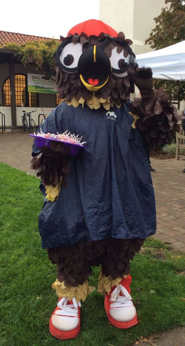 We had ghosts and goblins, chickens and Harry Potter too! DowntownSanAnselmo