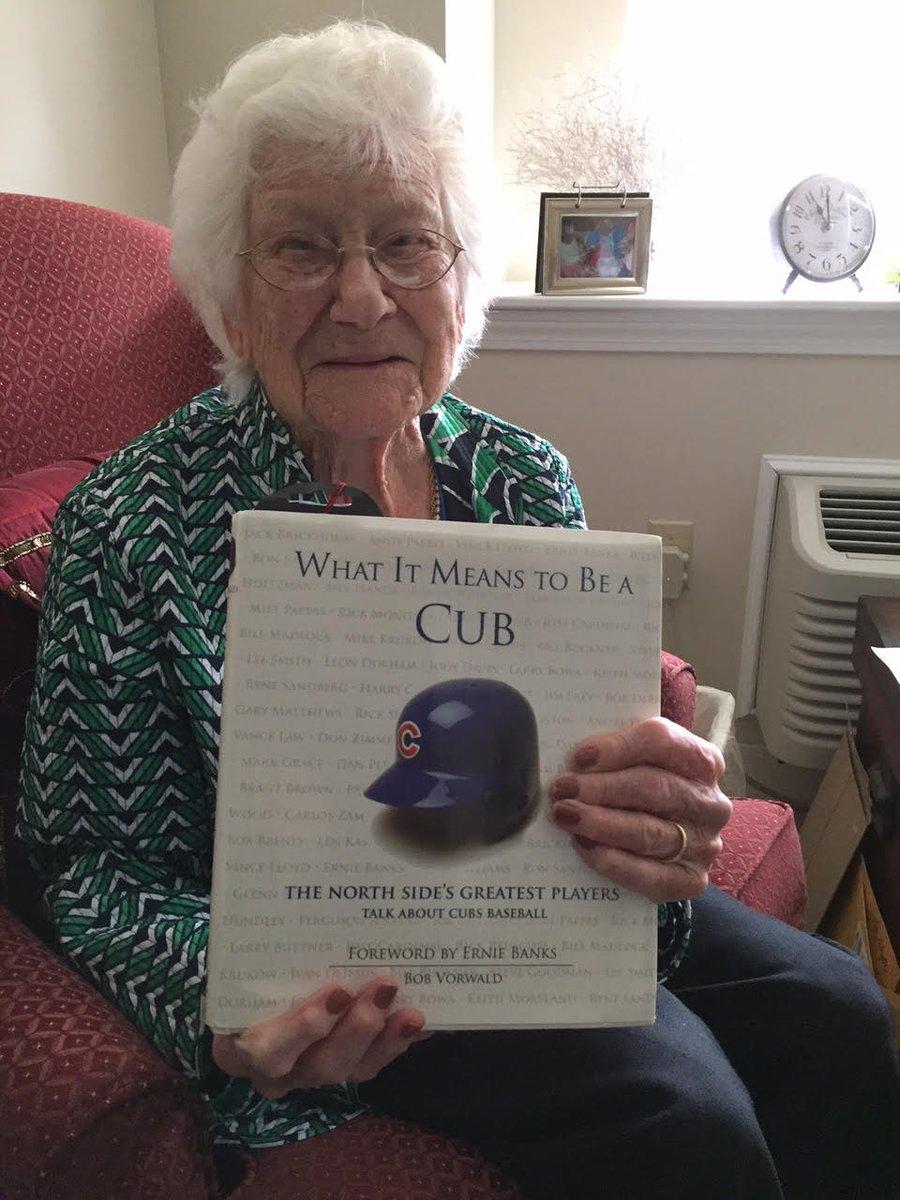 @Sneedlings Cubs' 108-year-old fan