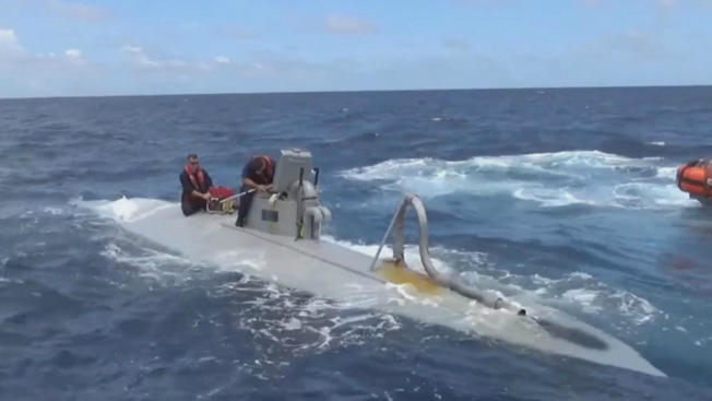 Coast Guard seizes nearly 3 tons of cocaine from semi-submersible