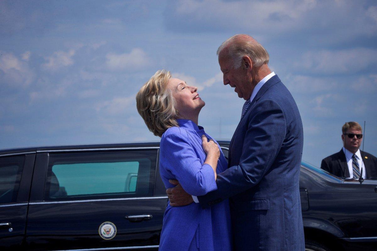 Joe Biden tops Hillary Clinton's short list for secretary of state: report