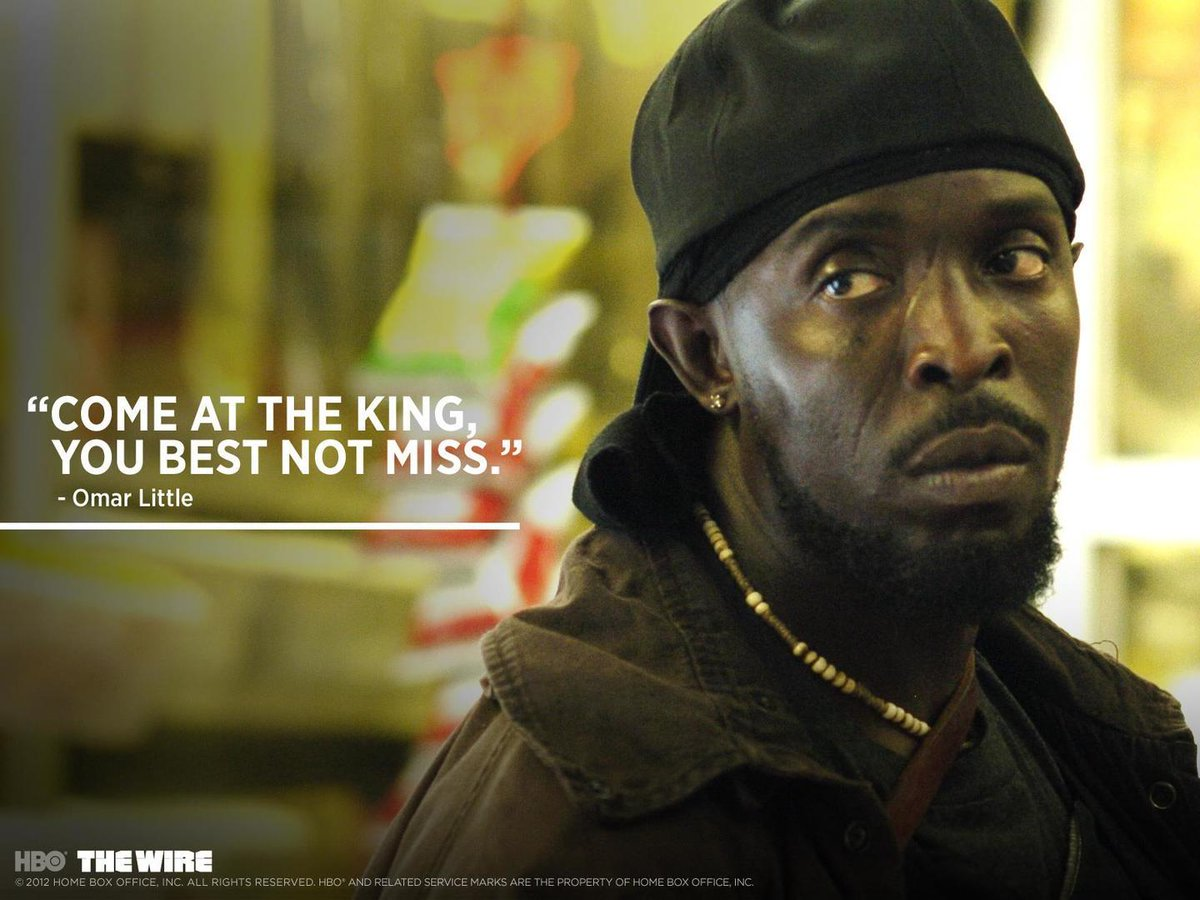 Hero Wallpaper On Twitter Omar Little Tco BsNrG01Y3C Backgrounds SethKGilliam Wire