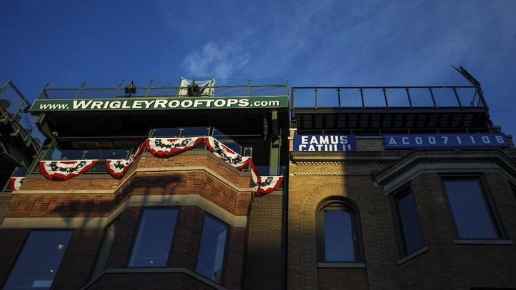 Wrigley's rooftop seats: From lawn chairs to big business