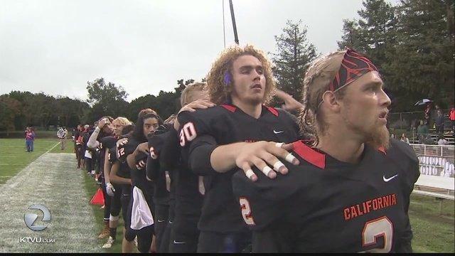 Fremont deaf high school football team in national spotlight. Game shown on ESPN