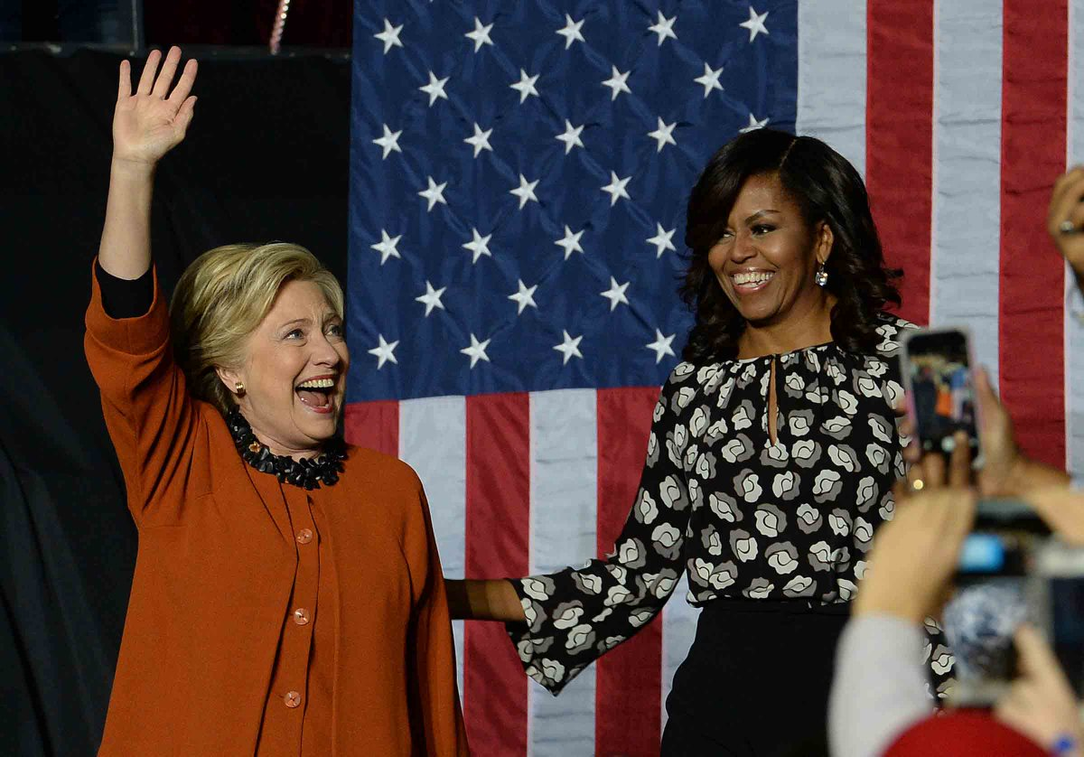 Michelle Obama: A Hillary Clinton presidency could be just as historic as my husband's