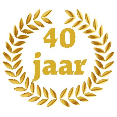 veertig jarig jubileum Afbeelding 40 Jaar Jubileum   ARCHIDEV veertig jarig jubileum