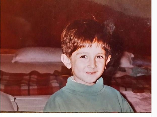 Rohan Mehra in his Childhood Photos