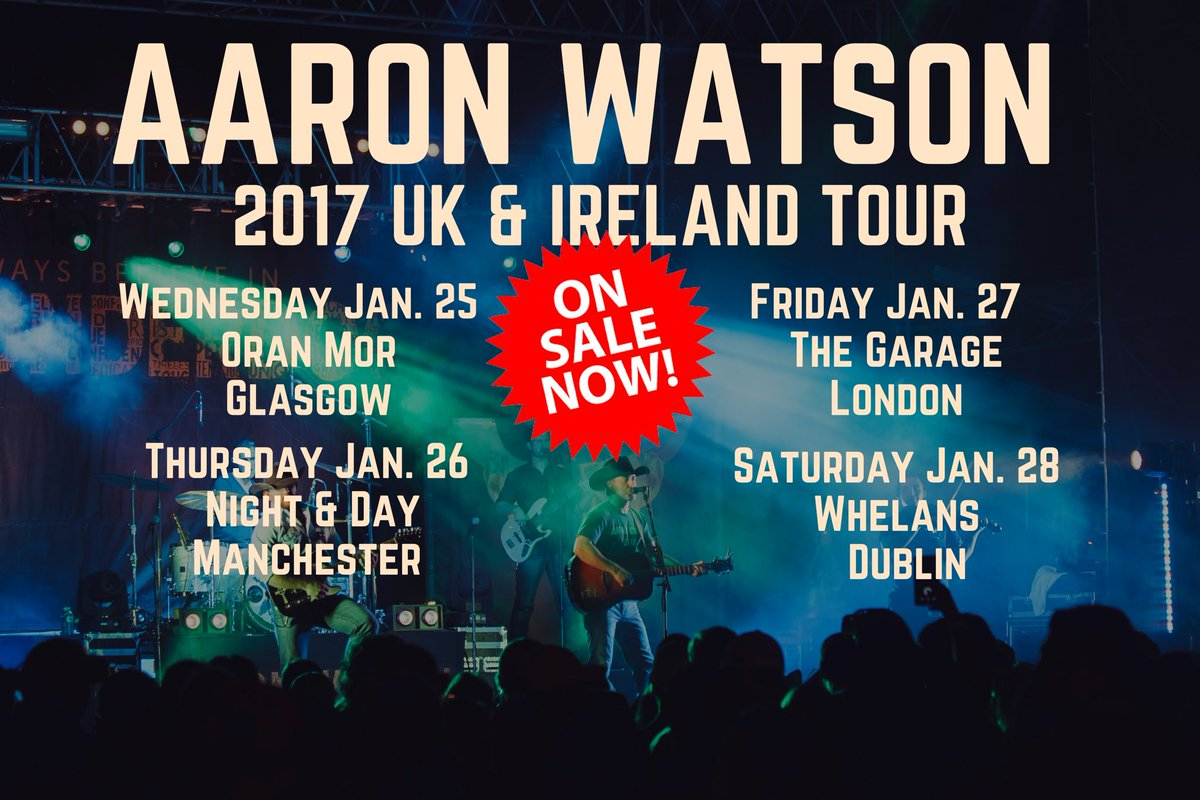 Aaron watson tour dates