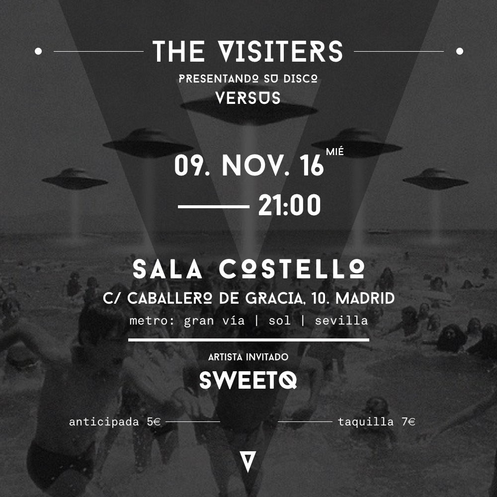 Concierto de The Visiters y Sweet Q en Costello Club