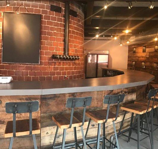 Take a look at @diamondbackbeer's new tap room in Locust Point (video)