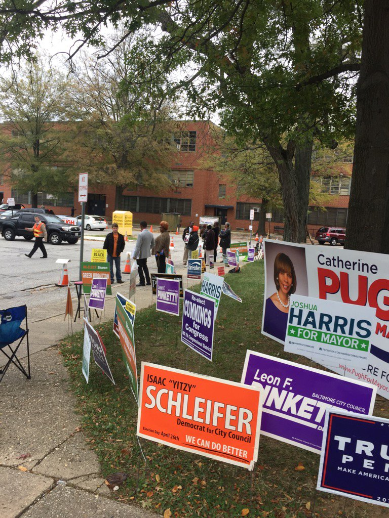 Record Turnout For First Day Of Early Voting In Md. @cbsbaltimore