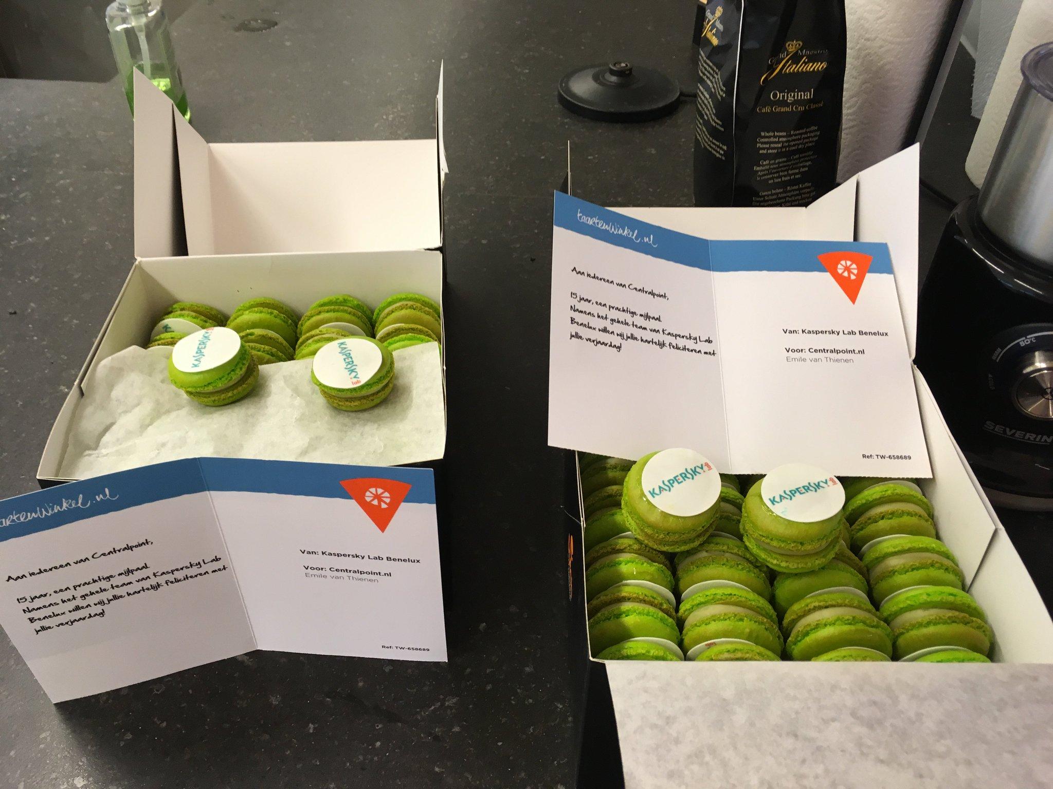 Centralpoint Nederland On Twitter Bedankt Voor De Lekkere Macarons