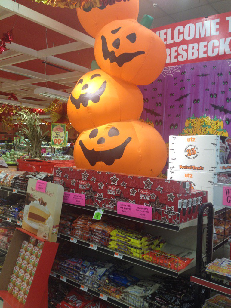 Halloween at Gersebeck's in MIddle River.WJZ at 6:15! @cbsbaltimore
