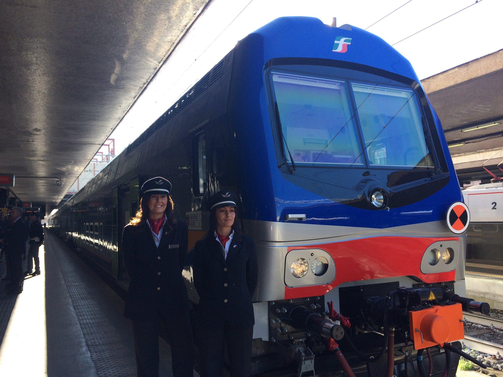 Inaugurato nuovo treno #Vivalto per regione #Lazio #RomaTermini #innovazione #trasporto https://t.co/hLN74Uss9X