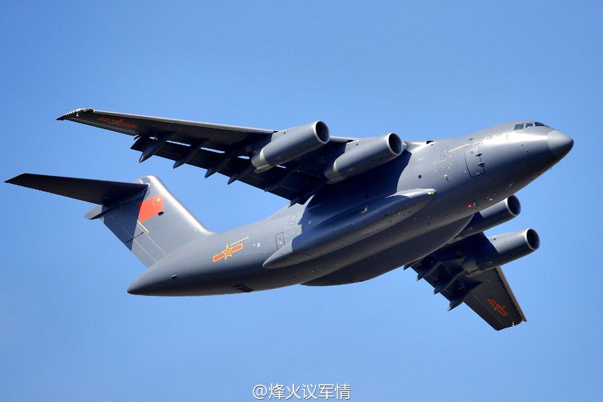 طائره النقل الثقيل الصينيه الجديده Xian Y-20  Cv2ROakUkAQqc2G