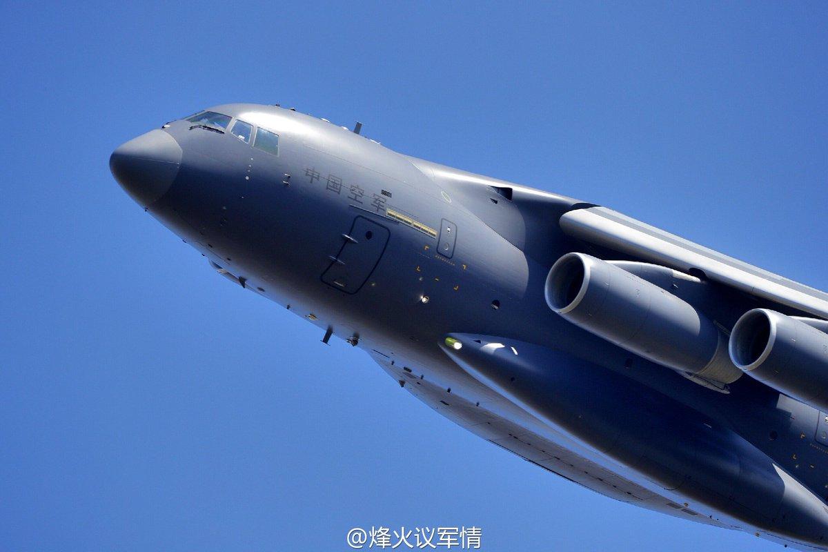 طائره النقل الثقيل الصينيه الجديده Xian Y-20  Cv2ROakVUAEu_hn