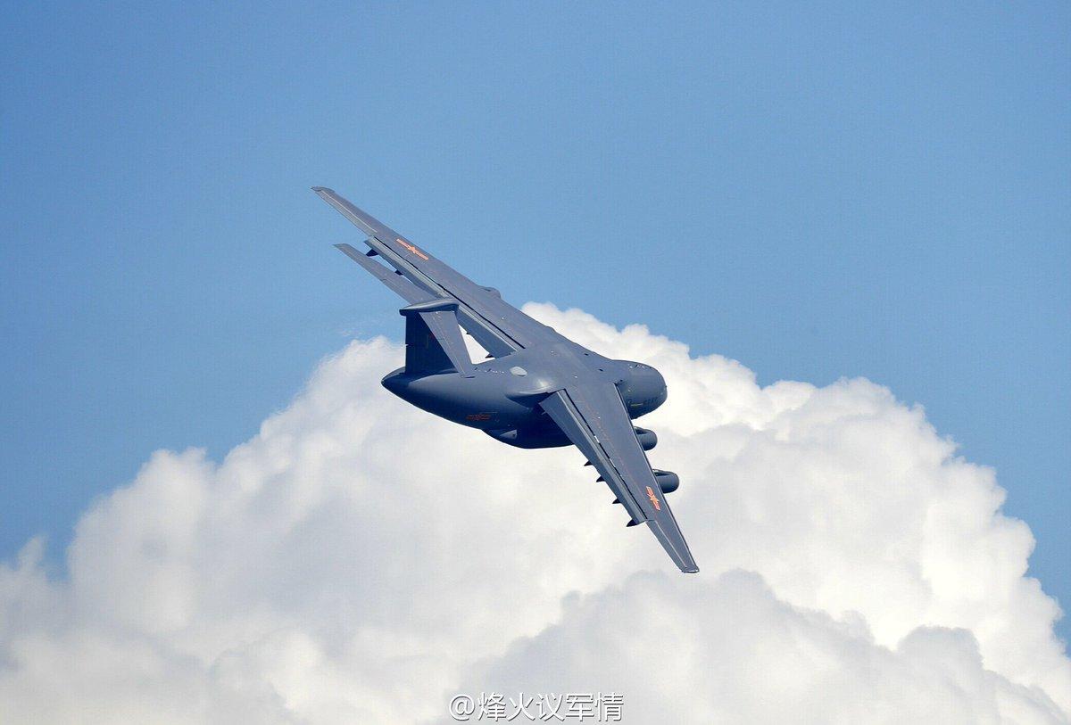 طائره النقل الثقيل الصينيه الجديده Xian Y-20  Cv2RRk8UsAETddC