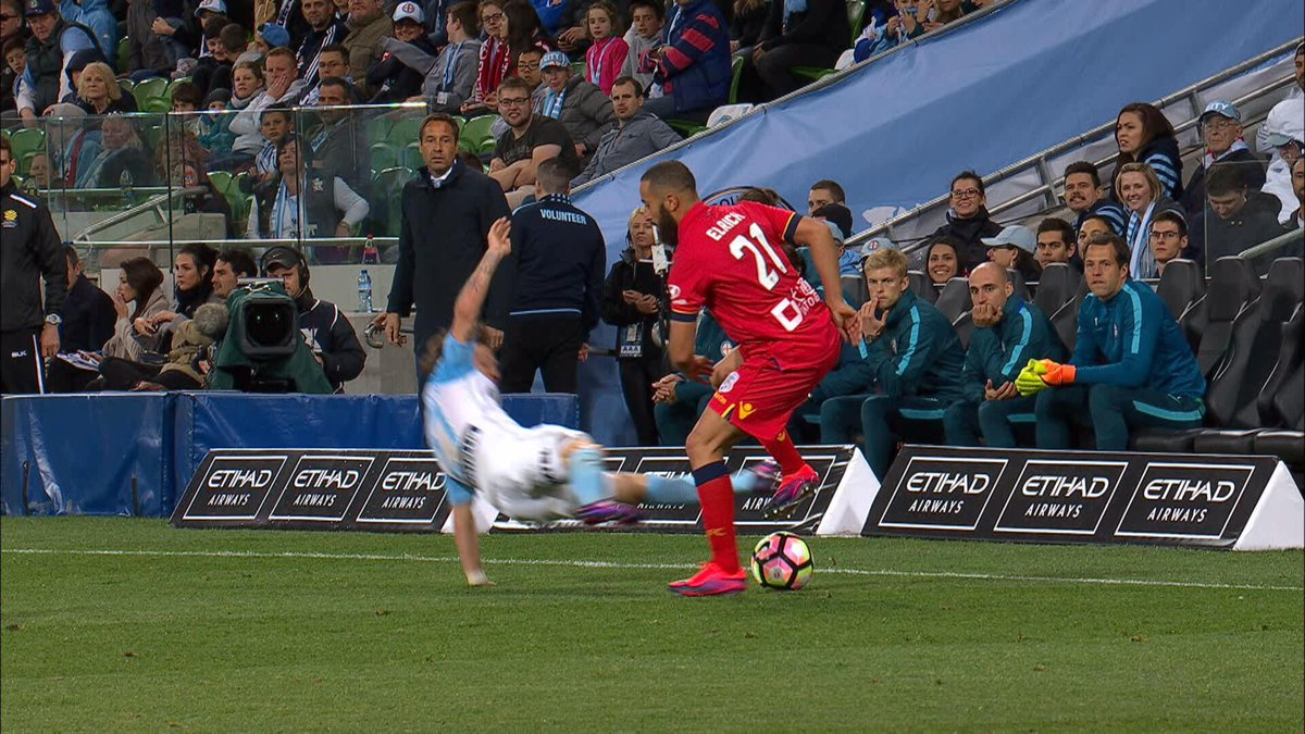 Should be a red. Horrid. #MCYvADL https://t.co/w0LCofjEAO