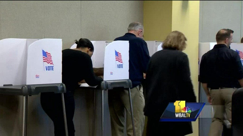 First day of early voting sets new turnout record