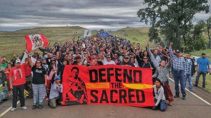 For our earth. For our future. For the people of Standing Rock, ND, say no to #DAPL. Please RT! #NoDAPL https://t.co/q7Nhjk1Pc6