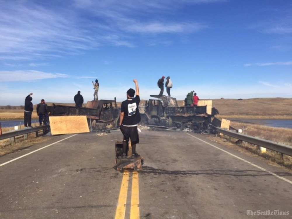 Follow the latest updates from DakotaAccessPipeline protests here