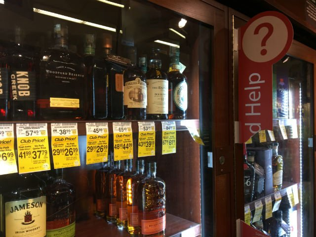 Why are SF Safeways suddenly putting their booze behind bars?