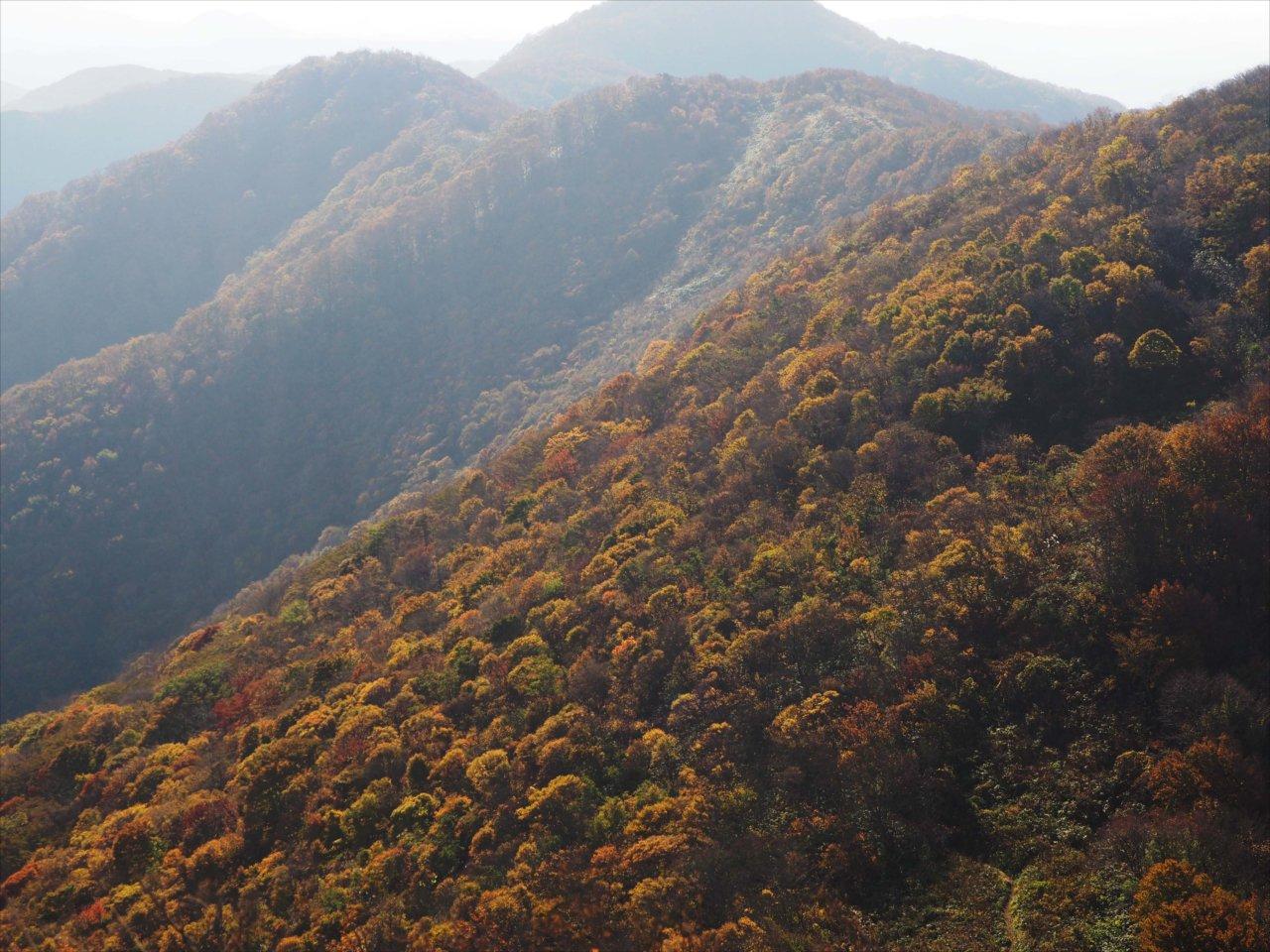 額取山(2016/10/27)
