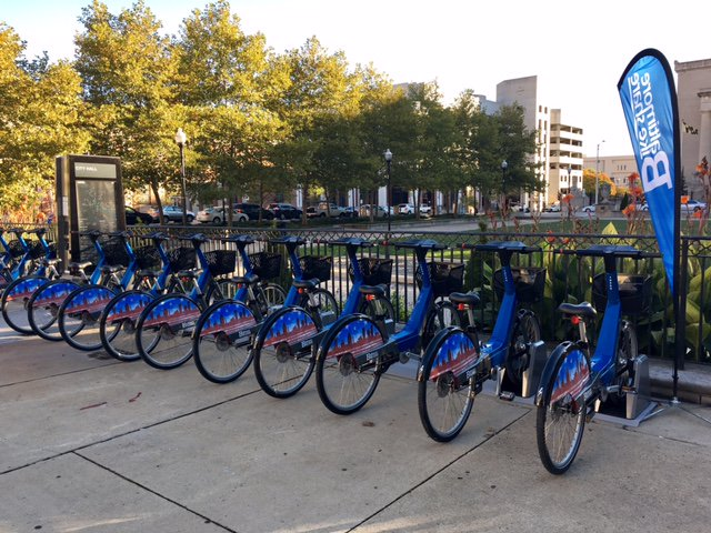 The much-anticipated Baltimore Bike Share launches today!