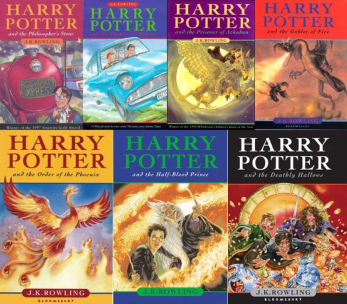 Harry Potter Book Cover Uk ~ Harry potter prints and posters now available to uk fans through