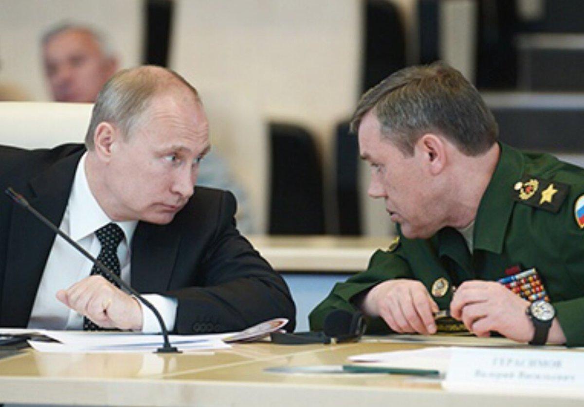 Генштаб просит Путина