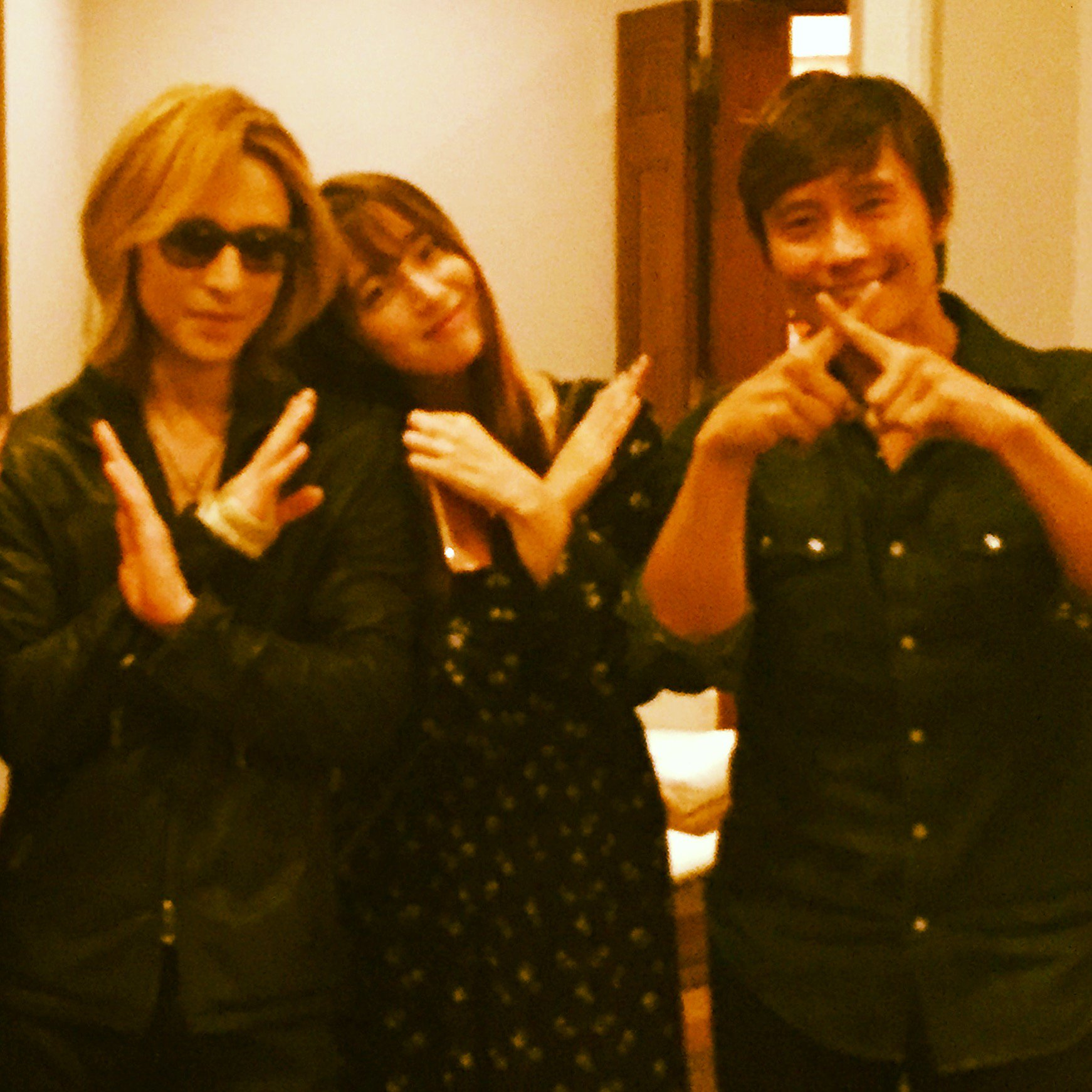 yoshiki on twitter   u0026quot in la  with lee byung
