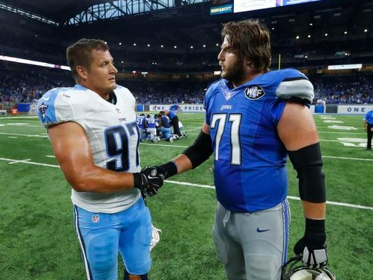 Reiff back at @Lions practice, expected to play