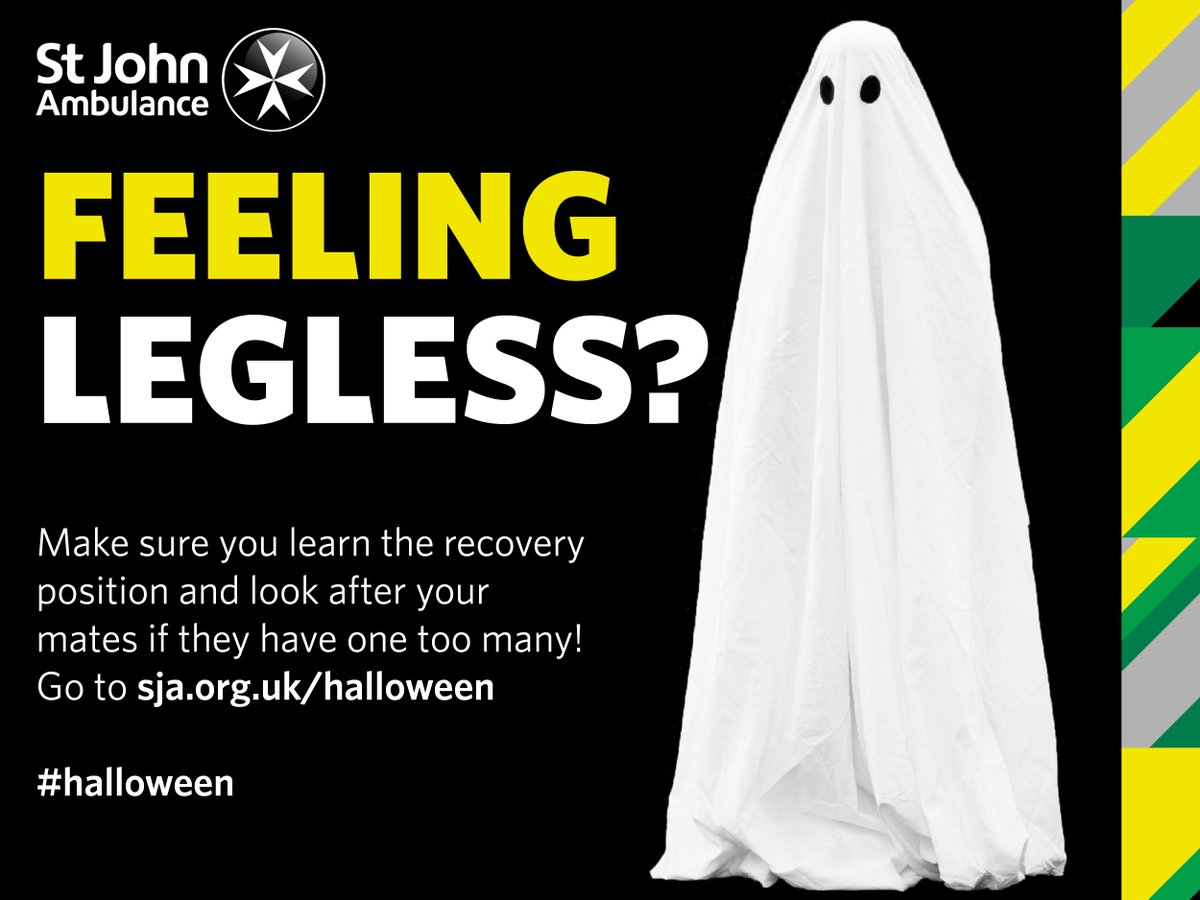 "st john ambulance on twitter: ""going to a halloween party tonight"