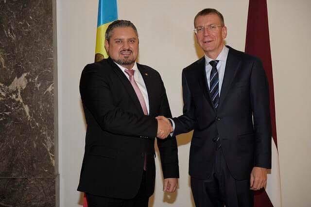 "MFA Moldova 🇲🇩 on Twitter: ""FM @AndreiGalbur on his working ..."