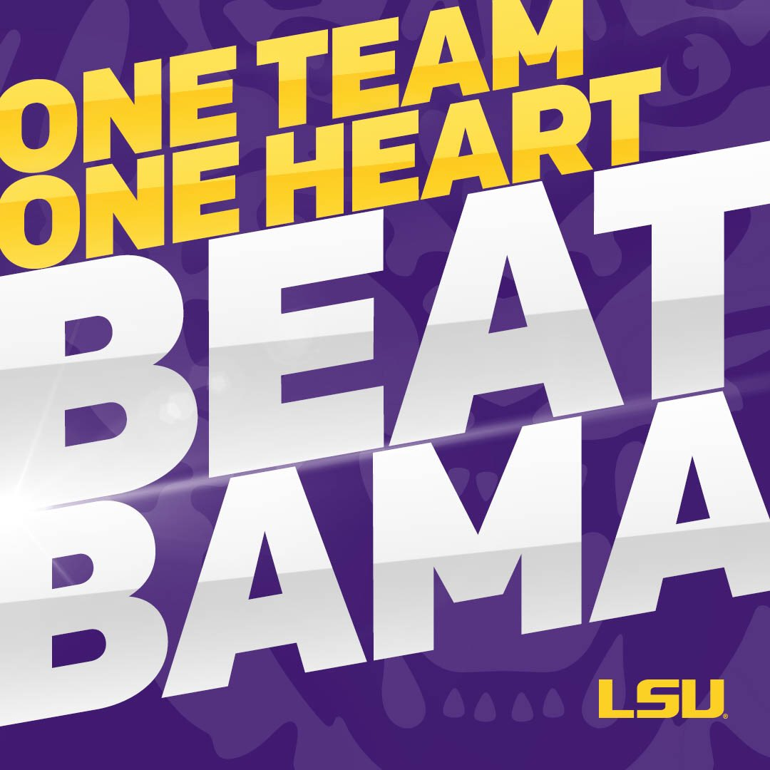 Lsu Football On Twitter Show Your Tiger Pride By Making This Your