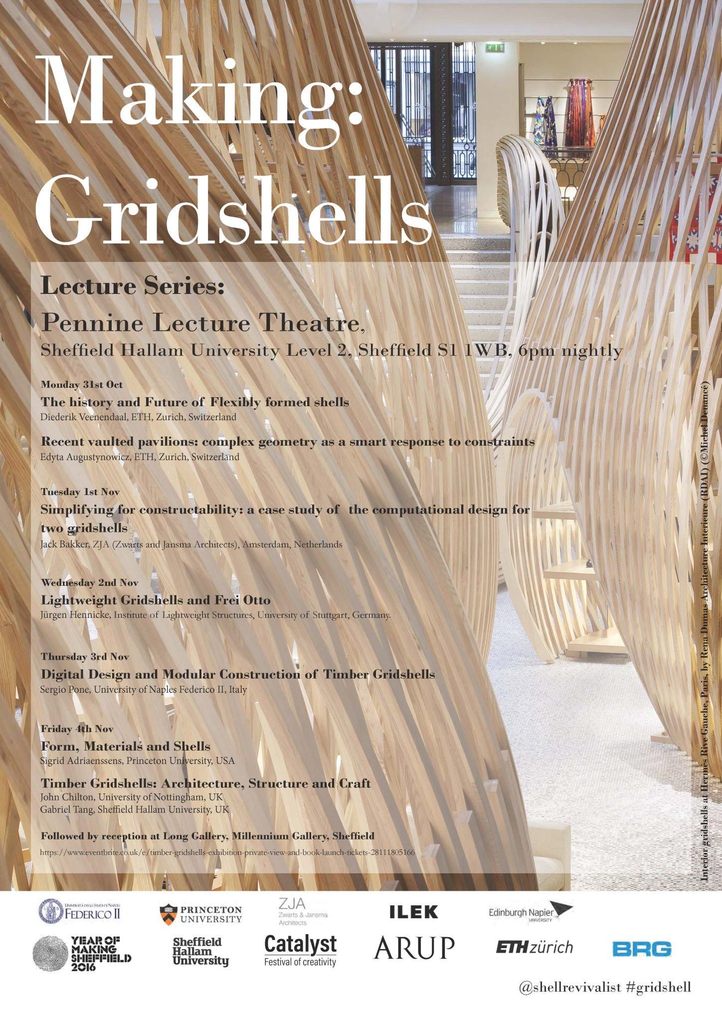 gabriel tang  u9648 u4efb u70b3 on twitter   u0026quot making gridshells   evening lectures next week at sheffield hallam