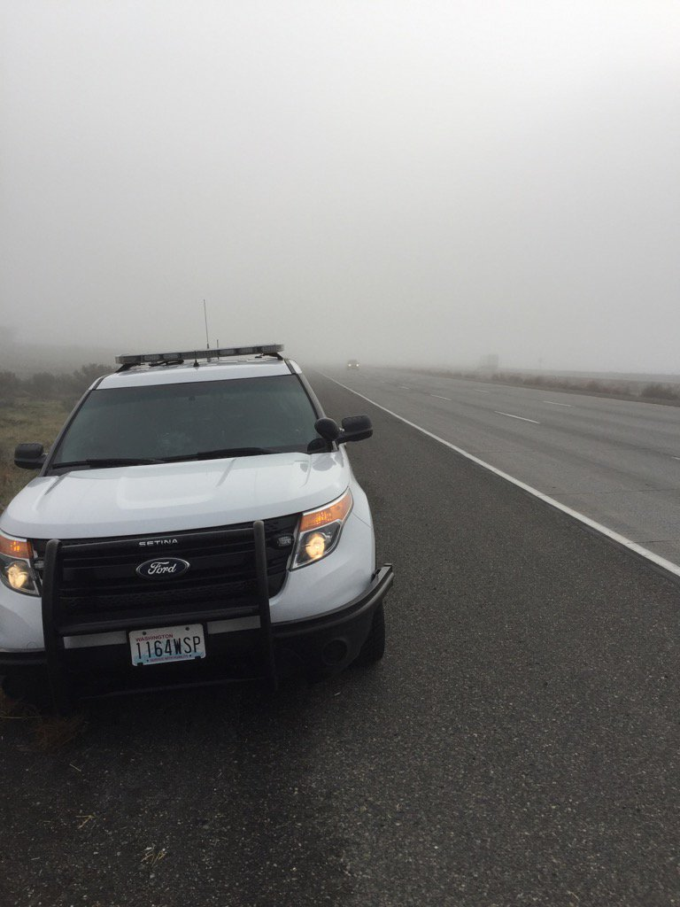 Fog in some parts of Tri-Cities this morning. Remember to turn on your headlights to be more visible!