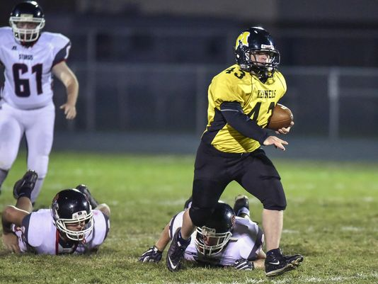 High school football player with Down Syndrome scores final touchdown